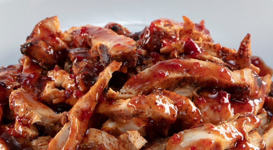 Raspberry Chipotle Chicken