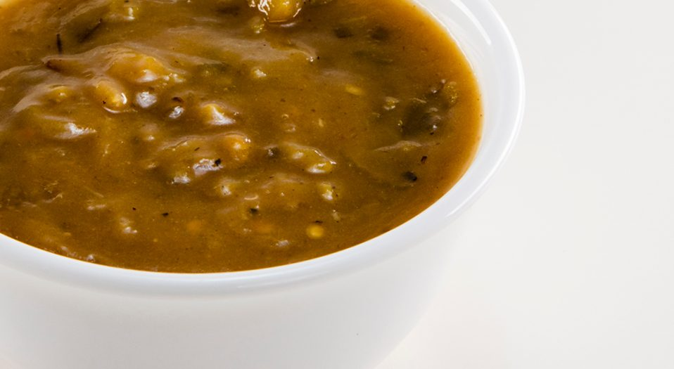 Roasted Green Chile Sauce