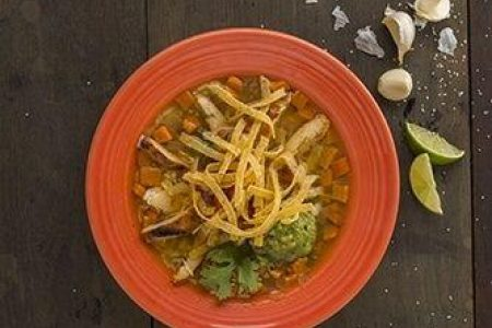 Hot Night Ahead With our Chicken Tortilla Soup!